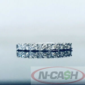*SOLD* Genuine Brand New 18Kt Half Eternity 0.222Ct Diamond Ring