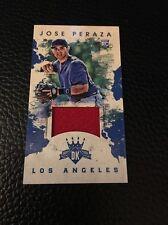 Jose Peraza Dodgers 2016 Donruss Diamond Kings Mini Materials Rookie #164 15/99