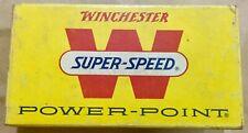 Vintage Winchester Super Super Powe-Point Empty Ammo Box