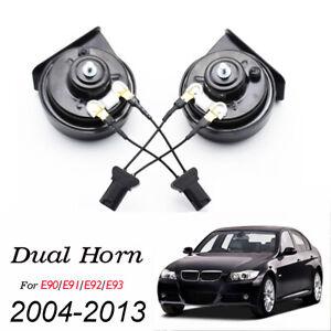 For BMW 3 Series E90 E91 E92 E93 Waterproof Dual Pitch 12V 410/510Hz Snail Horn
