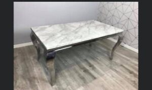 Brand New Louis Marble Dining Table Only 150 Cm. Avaialble In Diffrent Sizes