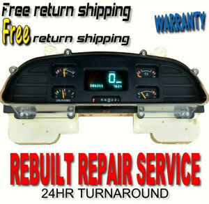 REPAIR SERVICE Chevrolet Impala Caprice SS Speedometer Instrument Gauge Cluster
