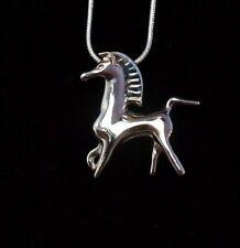 New listing Black Stallion silver necklace - Bucephalus Classic