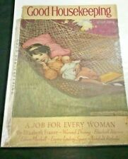 Vintage Good Housekeeping Cover July 1929 Jessie Wilcox Smith Illustration