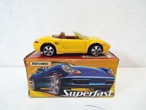 MATCHBOX SUPERFAST 56 PORSCHE BOXSTER MINT BOXED   (A22)
