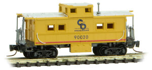 Micro-Trains MTL Z-Scale Center Cupola Caboose Chesapeake & Ohio/C&O #90020