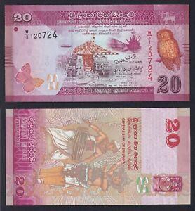 Sri Lanka 20 rupees 2010 FDS/UNC  C-08