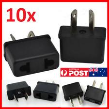 10 x USA EU EURO ASIA to AU AUS AUST AUSTRALIAN POWER PLUGs TRAVEL ADAPTER