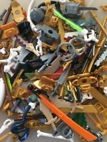 LEGO X30 NEW NINJAGO WEAPONS & WEARABLES MINIFIGURE ACCESSORIES - MIX! +