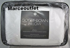 Hotel Collection European White Goose Down KING Pillows Medium Support