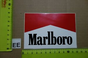 Alter Aufkleber Zigaretten Motorsport MARLBORO Automat (?) A