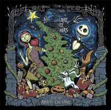 Disney Tim Burton's The Nightmare Before Christmas Pop-Up Book and Advent Calend
