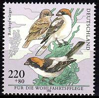 2019 postfrisch BRD Bund Jahrgang 1998 Rotkopfwürger Vogel Tier Tierwelt Natur