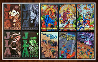 Lot of 10 JLA TPB Graphic Novels Act of God Another Nail Destiny *ALL NM* Look!