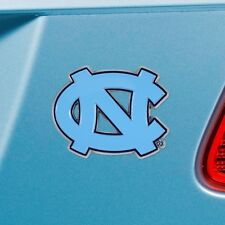 North Carolina Tar Heels Heavy Duty Metal 3-D Color Auto Emblem