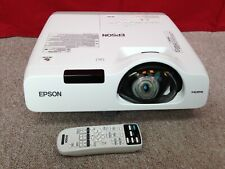 Epson EB-530 Projector - LCD, HDMI - PC, Home Cinema - With Remote - 704 Hours