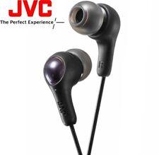JVC ha-fx7 Negro Goma más Internos Auriculares con refuerzo de graves hafx7b /