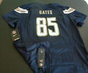 ANTONIO GATES San Diego CHARGERS Football NIKE Replica Women's LARGE Jersey NFL