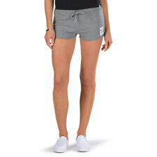 NWT VANS Outer Banks SHORTS DrawString Waist HEATHER GREY Beach Play PJ Womens M