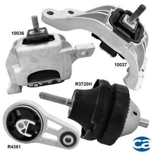 Engine Motor Mounts & Auto Trans. Mounts 4Pcs Set for Mini Cooper 07-15 1.6L