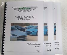 Aston Martin DB7 V12 Vantage Parts Manual 99-03 Réimpression A4 Peigne Bound