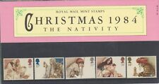 GB 1984 CHRISTMAS PRESENTATION PACK 157 SG 1267 1271 MINT STAMP SET