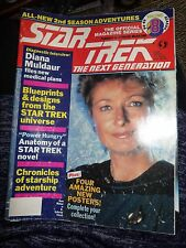 OFFICIAL STAR TREK THE NEXT GENERATION MAGAZINE 88-89 VOLUME 8 WITH POSTERS