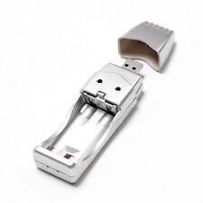 Chargeur USB Recharge Pile Accus Batterie AA/AAA NiMH  Ordinateur lampe de poche