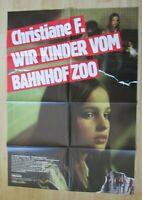 Filmplakat - Christiane F. Wir Kinder vom Bahnhof Zoo (Brunkhorst , David Bowie)