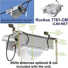 Ruckus ZoneFlex 7761-CM Outdoor Strand Mount WiFi AP Wireless CATV Modem Docsis
