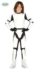 GUIRCA Costume soldato star wars Stortrooper carnevale bambino  mod. 8588_