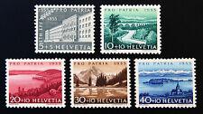 Schweiz, Mi.Nr. 613-617 (Jahr 1955) postfrisch