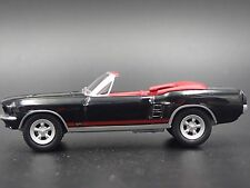1967 Ford Mustang GT Convertible RARE 1/64 DIECAST COLLECTIBLE DIORAMA MODEL CAR