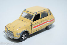 POLISTIL EL52 EL 52 EL-52 CITROEN DYANE LIGHT YELLOW EXCELLENT CONDITION