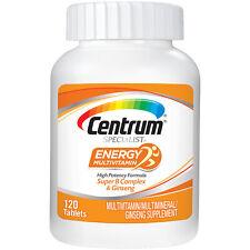 Centrum Specialist Energy Adult (120 Count) Multivitamin Immune System Booster