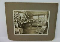 Antique Cabinet Photograph - Charlestown Indiana Post Office