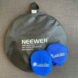 Neewer 110cm 5-in-1 and Lastolite 30cm Foldable Photo Light Reflector Panels