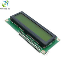 LCD Yellow I2C Modul LCD1602 16x2 Zeichen Display HD44780 Arduino Raspberry Pi