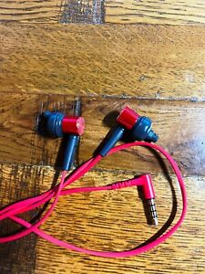 Sony MDR-XB50AP In-Ear Extra Bass Headphones with In-Line Control Red Black