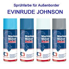 Marine Farbspray speziell für EVINRUDE JOHNSON Bootsmotoren Sprühfarbe Osculati