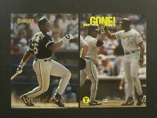 1993 DONRUSS FRANK THOMAS WHITE SOX SPIRIT OF THE GAME LOT OF 2 CARDS #SG6 &18!!