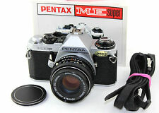 Pentax ME CLASSICO SUPER 35mm SLR Film Camera + SMC Pentax-M 1:1 .7 F = 50mm lente.