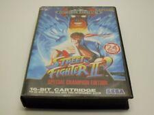 !!! SEGA MEGA DRIVE SPIEL Street Fighter II GUT/OK !!!