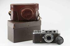 Zorki 1 con 3,5 50 mm camera cámara matching box 84994
