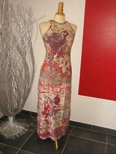 BELLE ROBE LONGUE OISEAU DU PARADIS MAXI DRESS SAVE THE QUEEN T M 36 38 UK 8 10