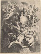Peter Paul Rubens: Fall of the Rebel Angels by Lucas Vorsterman - Fine Art Print