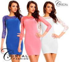 Netz Damenkleider für L