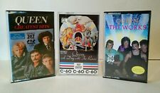 Queen A Day at the Races, The Works & Greatest Hits Cassette Tapes Bundle IMPORT