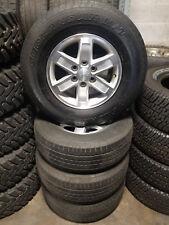 Used Yokohama Geolander H/T P265/70R17 Tires w/ 17x7.5 Wheels  - Full Set