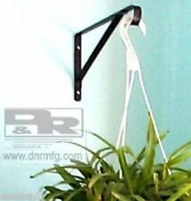 "NEW 2PCS 17"" HEAVY DUTY FLOWER BASKET HANGERS BRACKETS FOR HANGING GARDEN PLANTS"